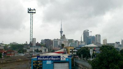 ニュージーランドで仕事が始まった